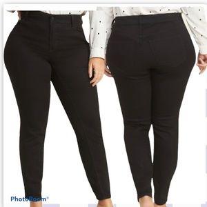 Size 28 Long Old Navy Jeans Skinny Black